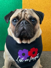 Load image into Gallery viewer, Anzac Day Reversible Snap bandana - Only XS left (Made to order)