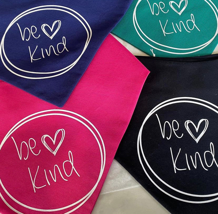 Be kind Movement Snap bandana (Made to order)