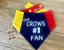 Load image into Gallery viewer, Adelaide Crows Snap Bandana