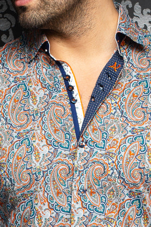 Au Noir Shirt | Bozeman Orange