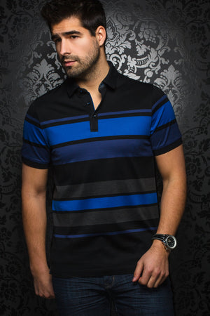 Men Fashion - Au Noir Polo shirt - Giorgio Black