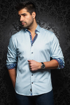 Au Noir Shirt | Marino Light Blue