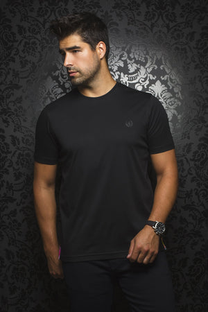 Au Noir T-Shirt Crew Neck - Michael Black