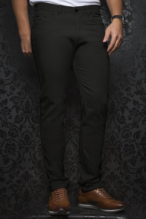 Au Noir Dressy Stretch Pant - Remington Black