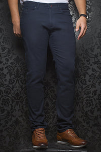 Au Noir Dressy Stretch Pant - Remington Navy