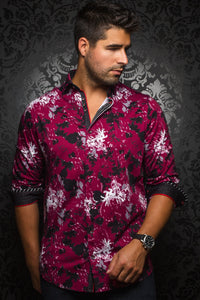 Au Noir Wine Stretch Shirt - Theodore Wine