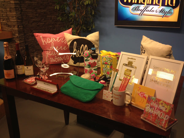 Winging It Buffalo Style CW Mother's Day Gift Guide, Scherers Jewelers and Rembrandt Charms