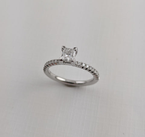 Remaining Balance on Custom Engagement Ring CAD#520066