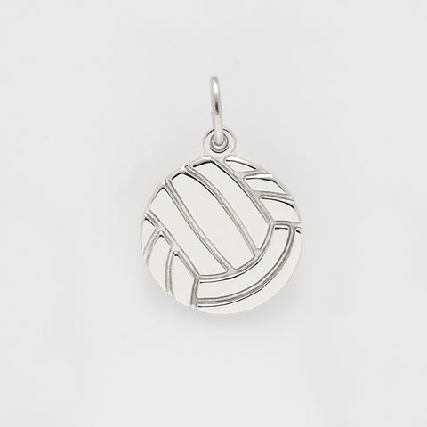 Volleyball Sterling Silver Charm: Style #2243