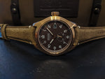 Bremont Broadsword Bronze: Tobacco
