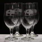 Buffalo Craft Classic Glasses (Set of 4)