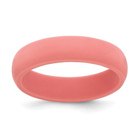 Silicone Band-Coral
