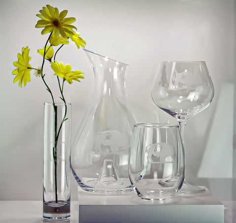 Mothers Day Buffalo Glassware