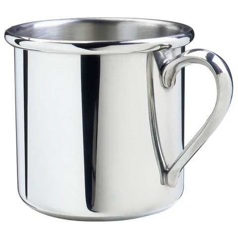 Pewter Straight Edge Baby Cup