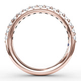 Shared Prong 1/2 carat Diamond Band
