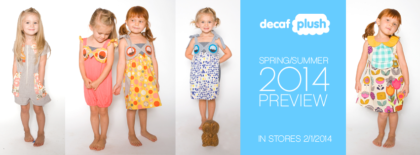 decaf plush spring 2014 collection