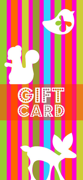 decaf plush Gift Card!