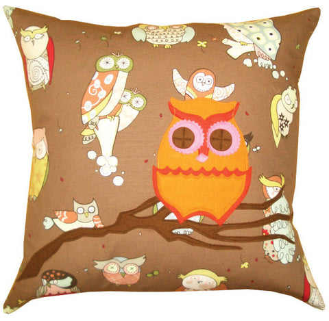 Hoot Hoot Owl Pillow