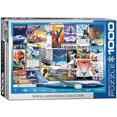 EuroGraphics Boeing Vintage Ads Collection Puzzle (1000 Pieces)