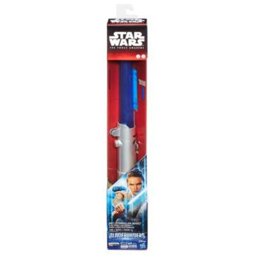 Star Wars The Force Awakens Rey (Starkiller Base) Electronic Blue Lightsaber