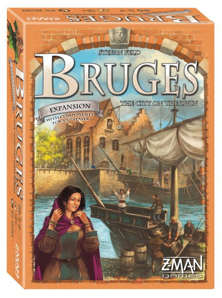 Bruges The City on The Zwin Board Game [Toy]