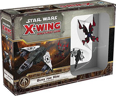 Fantasy Flight Games X-Wing Guns for Hire Expansion Pack Minature Game