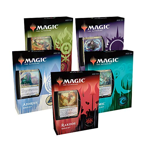 Magic: The Gathering Ravnica Allegiance Guild Kit (Set of 5)