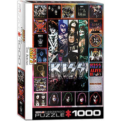 KISS The Albums 1000-Piece Puzzle