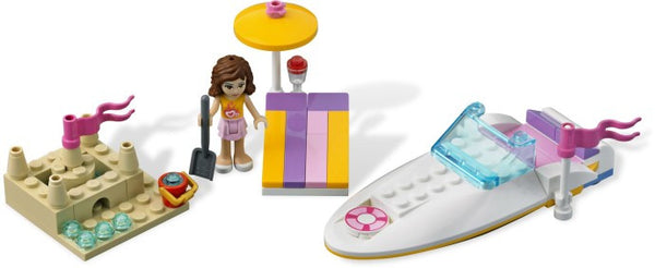 LEGO Friends 3937 Olivia's Speedboat [Toy]