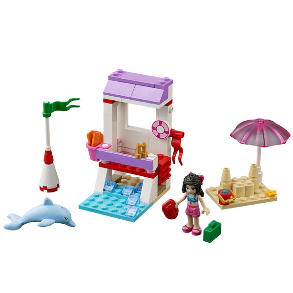 LEGO Friends 41028 Emma's Lifeguard Post - 78 Pieces - Ages 5 and Up