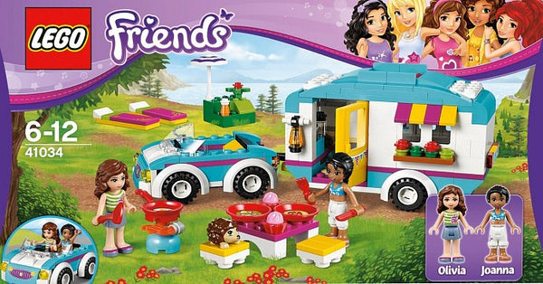 LEGO Friends Summer Caravan 41034 Building Set