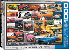 Dodge Advertising Collection 1000 pc Jigsaw Puzzle