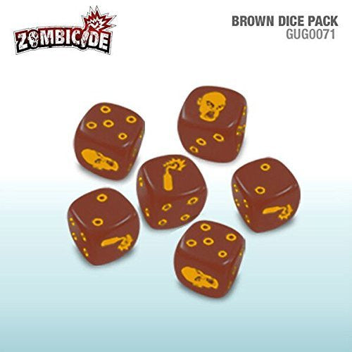 Zombicide - Brown Dice