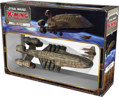 Star Wars X-Wing Miniatures Game: C-ROC Cruiser Expansion SWX58