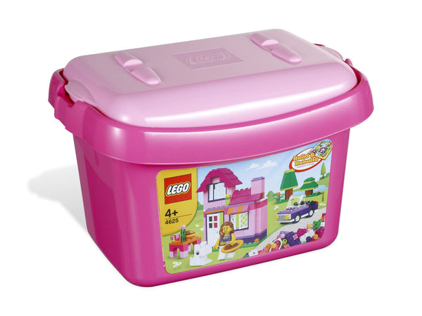 LEGO Bricks and More Pink Brick Box 4625 - 224 Pieces - Ages 4 and Up