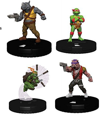 Teenage Mutant Ninja Turtles HeroClix: Gravity Feed Display - Heroes in a Half Shell Series 2 (24 Booster Packs)