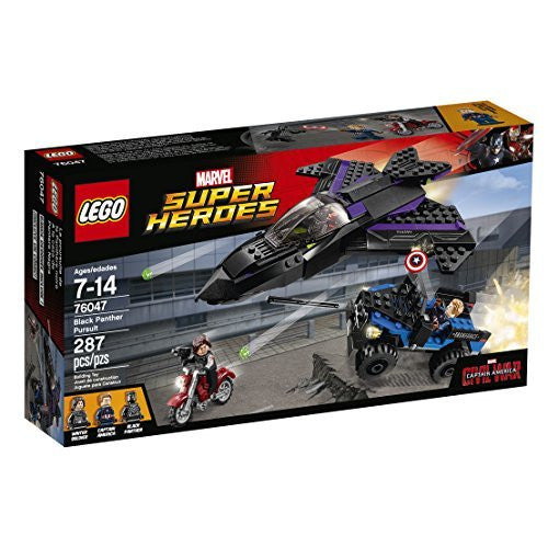 LEGO Super Heroes Black Panther Pursuit 76047