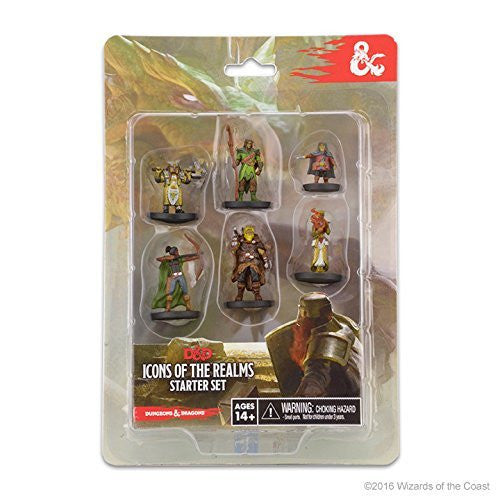 WizKids Dungeons & Dragons Icons of the Realms Starter Set - 2016 Update