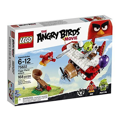 LEGO Angry Birds 75822 Piggy Plane Attack Building Kit (168 Piece)