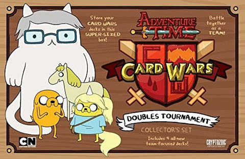 Adventure Time Card Wars Doubles Tournament Card Game