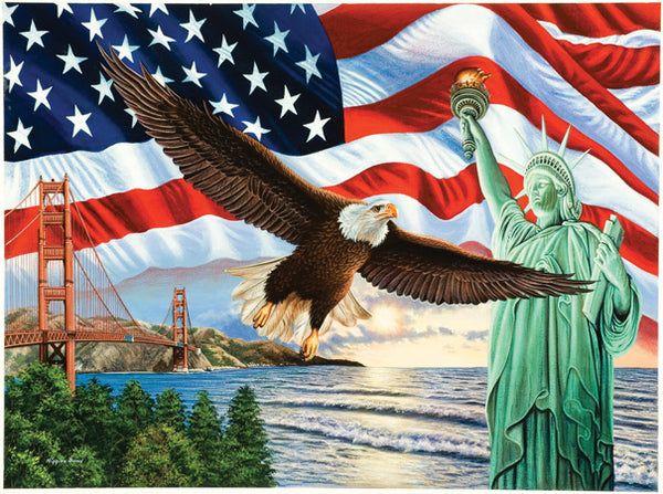 From Sea to Shining Sea 1000 pc Jigsaw Puzzle