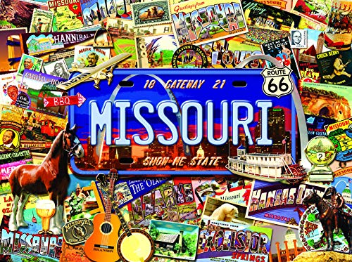 Missouri: The Show Me State 1000 pc Jigsaw Puzzle by SUNSOUT INC