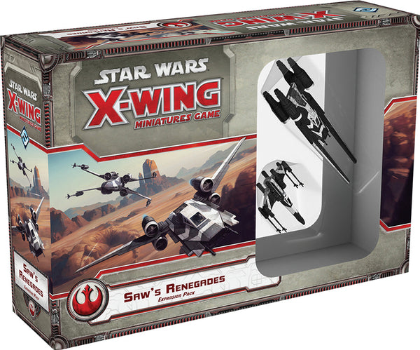Star Wars X-Wing Miniatures Game: Saw`s Renegades 2nd Edition Expansion