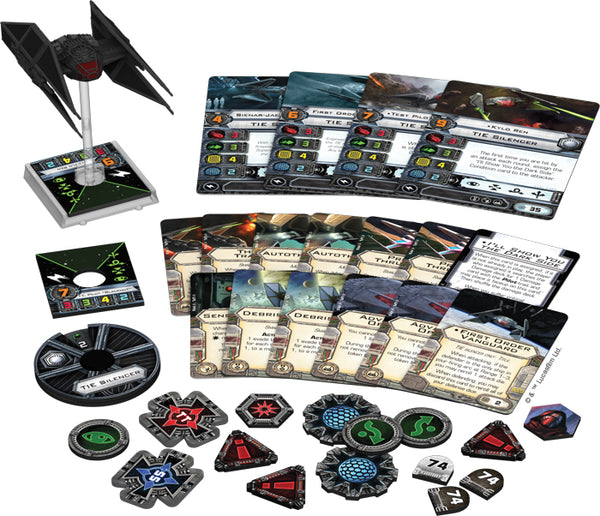 Star Wars X-Wing Miniatures Game: The Last Jedi - TIE Silencer Expansion