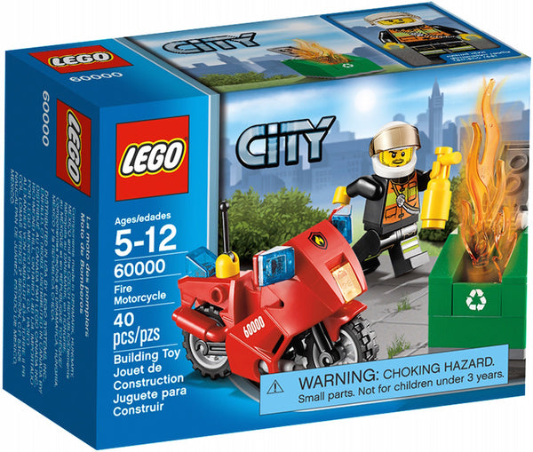 LEGO City Motorcycle 60000