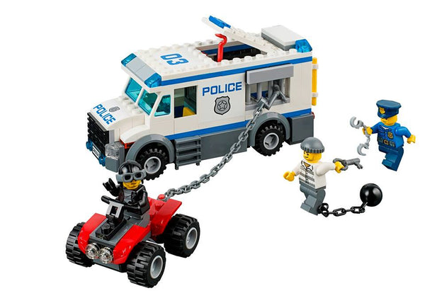 LEGO City Police 60043 Prisoner Transporter