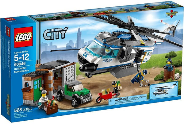 LEGO City Police 60046 Helicopter Surveillance