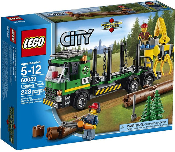 LEGO City Great Vehicles 60059 Logging Truck