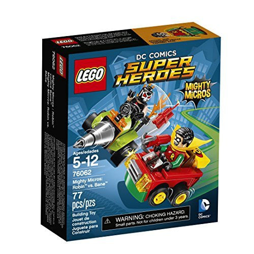 LEGO Super Heroes Mighty Micros: Robin(TM) vs. Bane(TM) 76062
