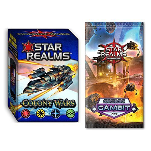 Star Realms: Colony Wars and Cosmic Gambit Expansion Bundle